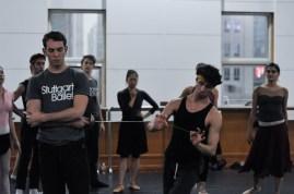 Robert Robinson as Tybalt and Pablo vn Sternefels as Mercutio