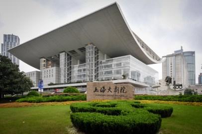 The Shanghai Grand Theatre