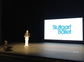 Artistic Director Reid Anderson at the Forum giving his keynote speech on Creativity as the Soul of Ballet