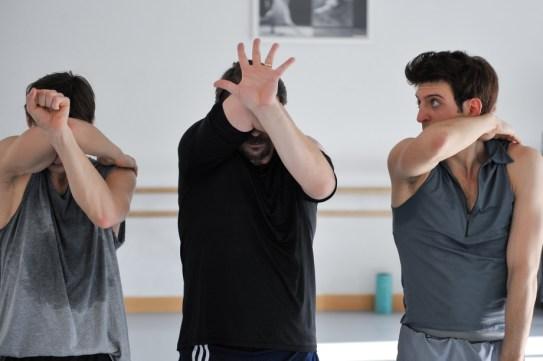 Rehearsal for Marco Goecke's Le Spectre de la Rose