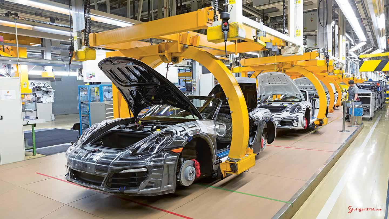 Porsche Makes 2015 Factory Investments Stuttgartdna