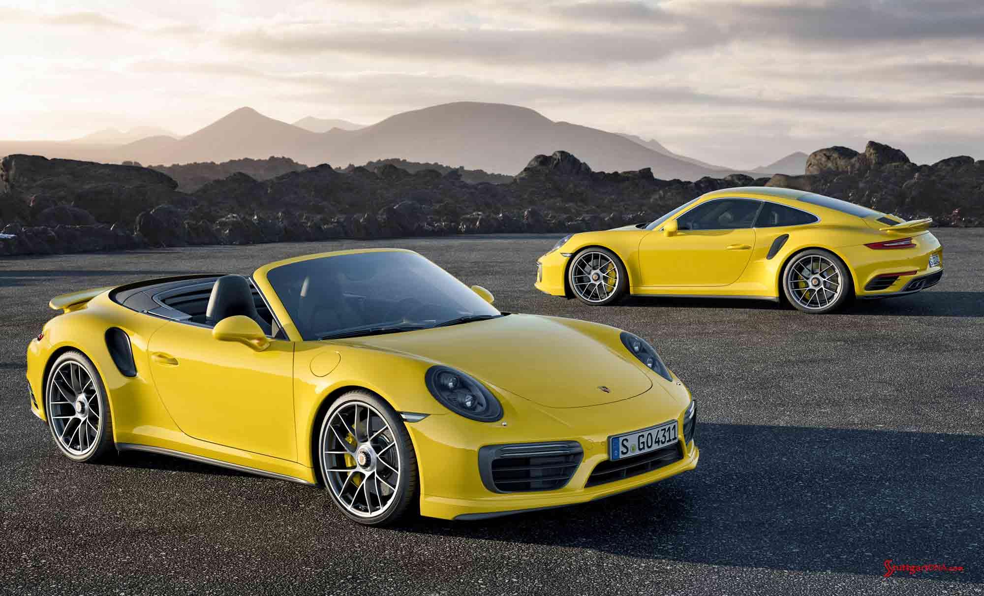 Two-yellow-2017-991-2-Turbos Mesmerizing Porsche 918 Spyder London Ontario Cars Trend