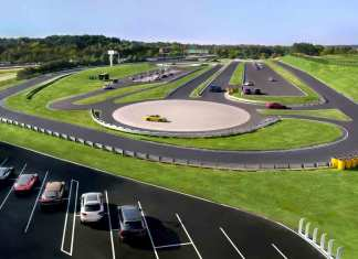 Porsche global demonstration tracks: Porsche Cars North America's Atlanta Experience Center Track. Credit: PCNA