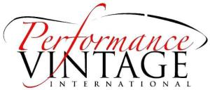 2017 Porsche L.A. Literature, Toy and Memorabilia Meet Weekend: Performance Vintage International logo. Credit: PVI