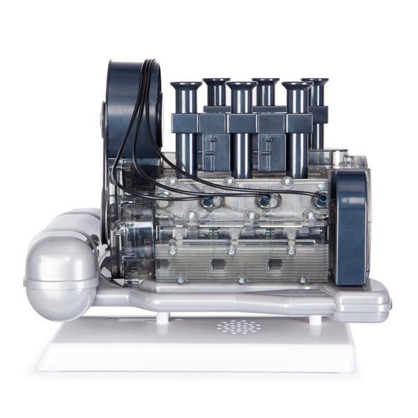 I Finished Putting Together My Motor Turbo: Franzis' Porsche Flat-Six Engine Scale Model Kit
