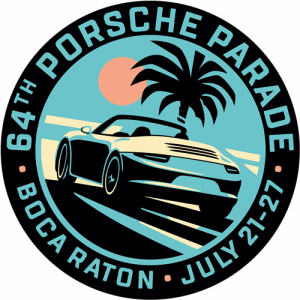 Porsche Parade 2019 Logo. Credit: Porsche Club of America
