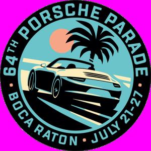 Porsche Parade 2019 Logo. Credit: Porsche Club of America