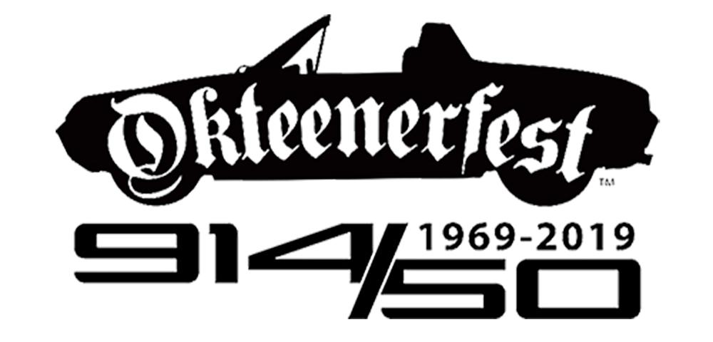 Seen here is the logo for Okteenerfest 2019 (lrg) - in celebration of 50 years of the Porsche 914. Credit: Okteenerfest