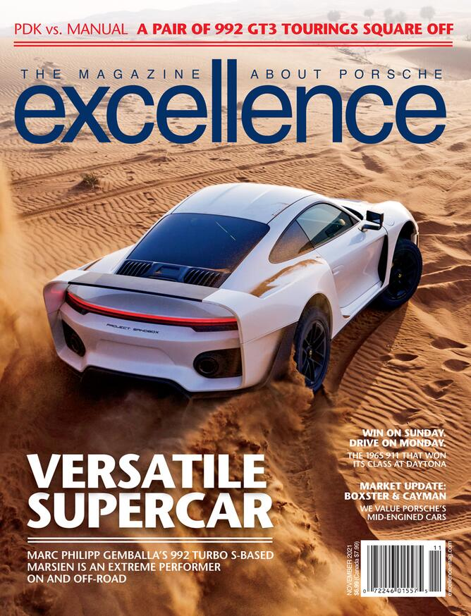 How to search for Porsche cars to buy online: This is the Excellence 286 Magazine logo. Credit: Excellence Magazine