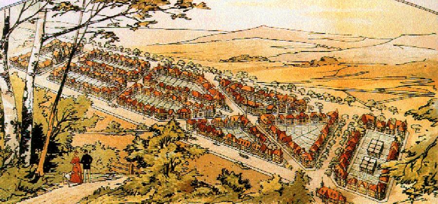 Ein visionärer Blick auf die Planung von Ostheim.
