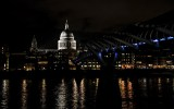 London bei Nacht: St. Paul's Cathedral