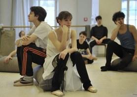 Krabat-Proben: Elisa Badenes, David Moore