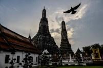 Der berühmte Tempel der Morgenröte Wat Arun in Bangkok