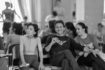 Georgette Tsinguirides, Tamas Detrich, Marcia Haydée