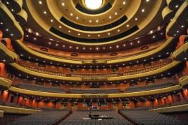 Das Opernhaus von innen.