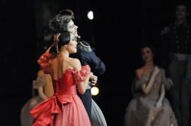 Tatjana und Fürst Gremin im dritten Akt
