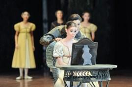 Olga und Lenski in unserer dritten Vorstellung in Tokio: Elisa Badenes und Daniel Camargo