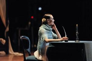 Der berühme Brief ... Anna Osadcenko als Tatjana