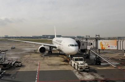 Abflug nach Sapporo