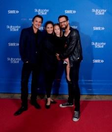 Tamas Detrich, Sue jin Kang und Filip Barankiewicz mit Tochter