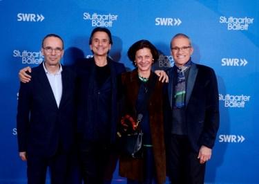 Opernintendant Jossi Wieler, Tamas Detrich, Julia von Württemberg, Reid Anderson