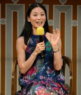Publikumsliebling Sue Jin Kang bei der Gesprächsrunde Next Generation, Foto: Stuttgarter Ballett
