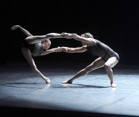 Anna Osadcenko und Jason Reilly in Itzik Galilis In Short, Foto: Stuttgarter Ballett