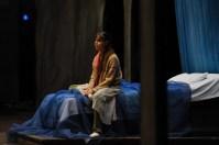 Elisa Badenes während der Bühnenprobe