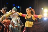 Angelina Zuccarini als eine der Zigeunerinnen in Romeo und Julia.