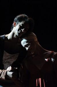 Hochzeitsszene: Alicia Amatriain und Constantine Allen als Romeo und Julia bei unserer letzten Vorstellung in Shanghai.