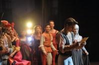 Zweiter Akt: David Moore als Romeo