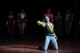 Matteo Crockard-Villa als Tybalt im zweiten Akt