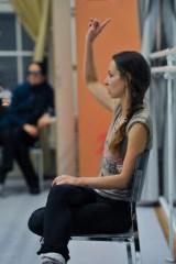 Katarzyna Kozielska beim Choreographieren