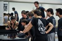 Ein Video sagt mehr als 1000 Worte? Ballettmeister Rolando D'Alesio mit den Tänzern