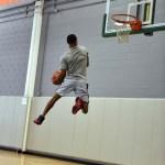 justin robinson dunks