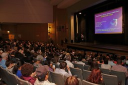 New York, NY, USA - September 28, 2018: Parents of Freshman Workshop at Stuyvesant High School