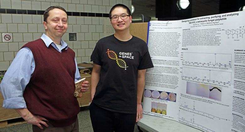 Stuyvesant High School research students receive Regeneron Awards for their science research projects