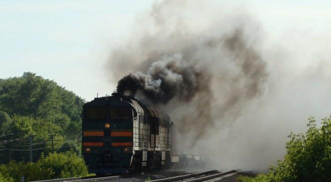 Між Галичем і Ходоровом загорівся поїзд Івано-Франківськ-Генічеськ