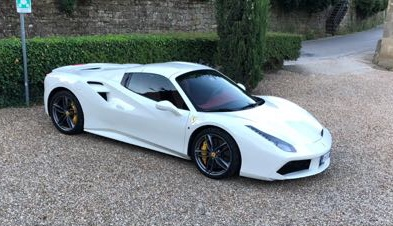 luxury car reantals europe ferrari 488
