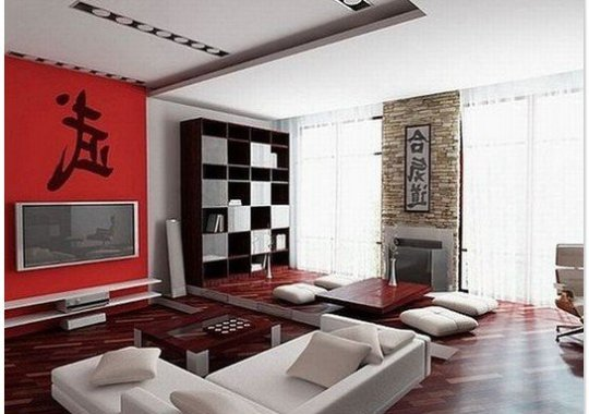 Asian style elements