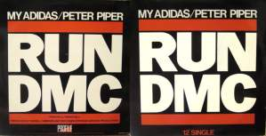 Plattencover RUN DMC