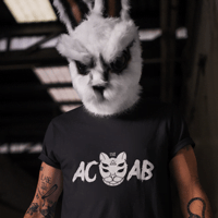 1312 Shirt mit Katzenkopf