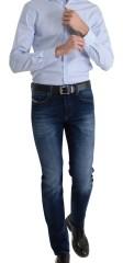 jean bleu slim fit