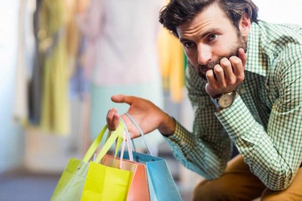 Wie Männer Mode kaufen