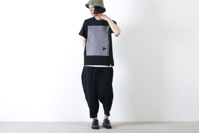and wander (アンドワンダー) cotton reflect T