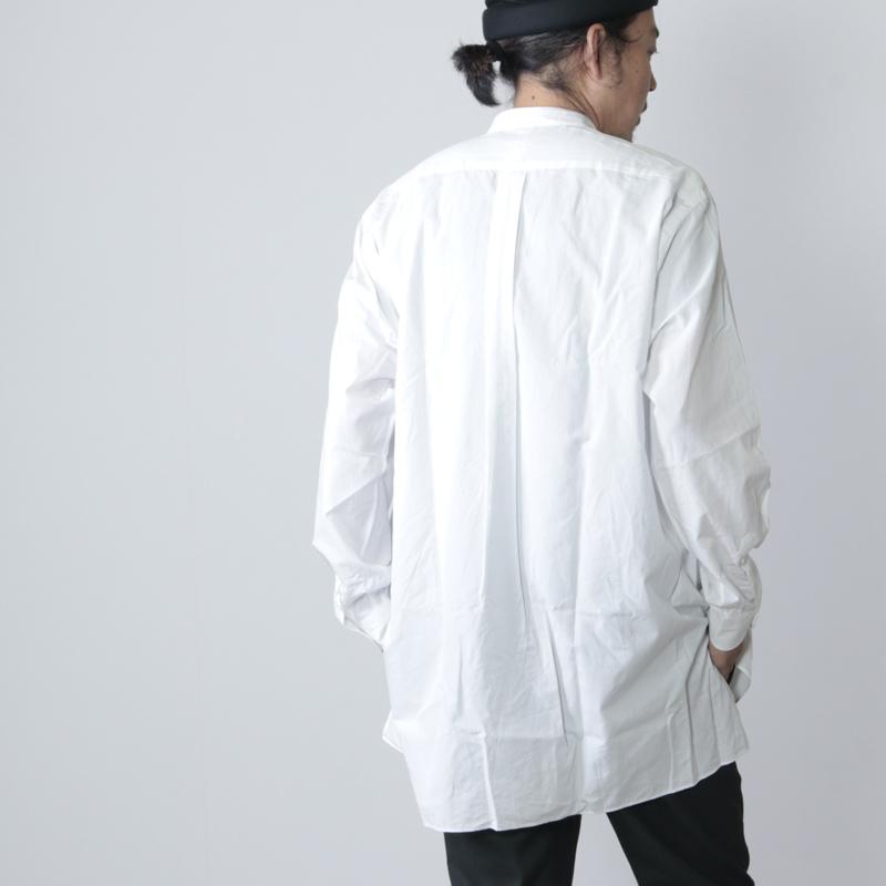 COMOLI(コモリ) バンドカラーシャツ