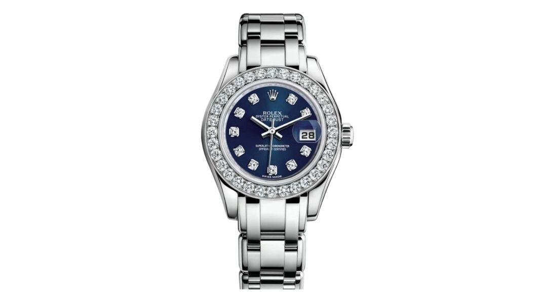 นาฬิกา rolex ที่แพงที่สุด - Rolex Oyster Perpetual Lady Datejust Pearlmaster White Gold Watch