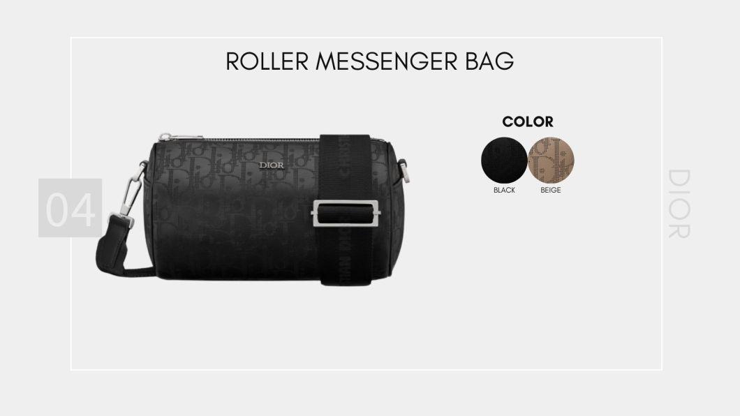 Roller Messenger Bag