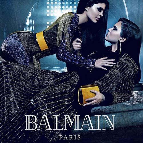 Сестры Дженнер и Хадид в рекламной кампании Balmain