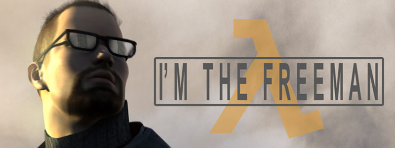 I'm The Freeman teaser (Half-Life2)
